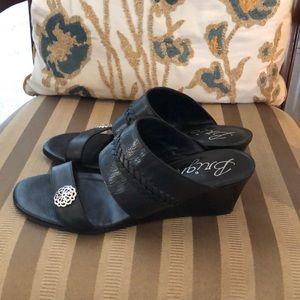 Brighton Shoes - Black Brighton Sandals